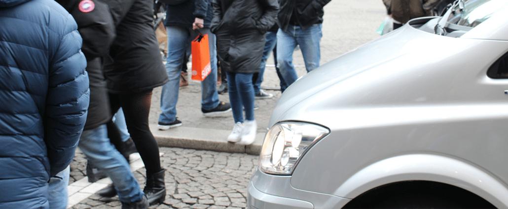emotionele schade voetganger aangereden