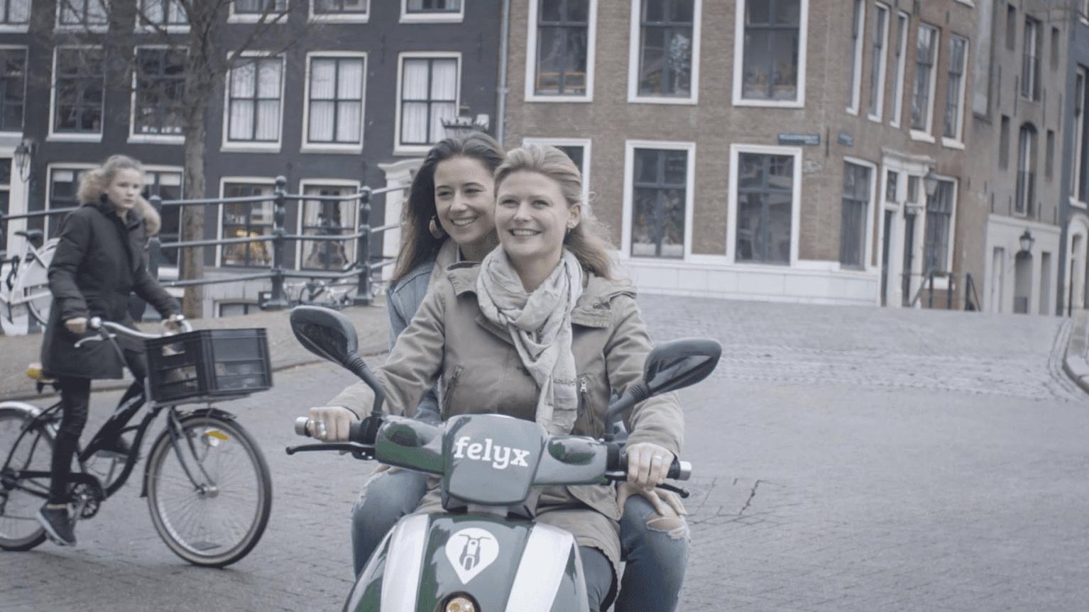 Amsterdam krijgt elektrische scooters