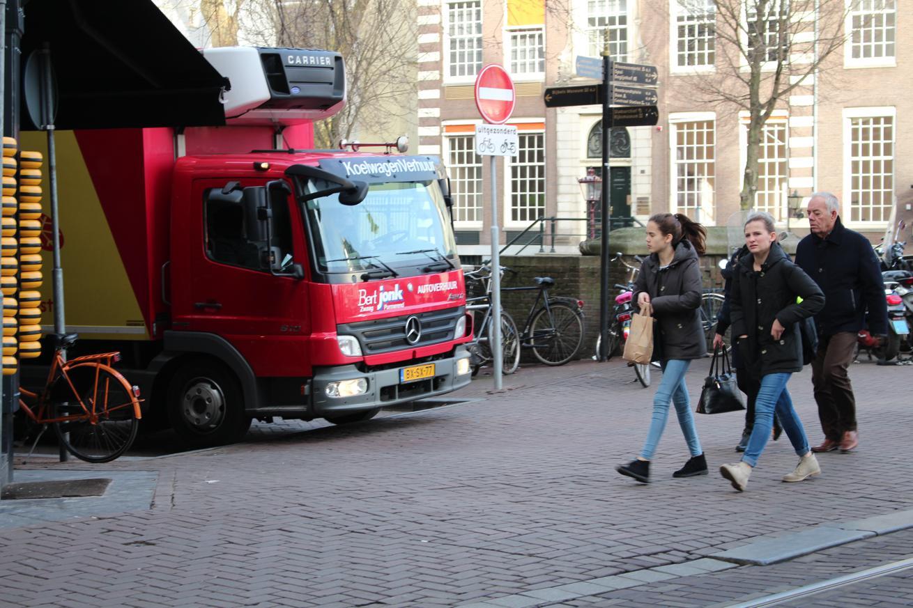 vrachtwagenverbod in Buitenveldert