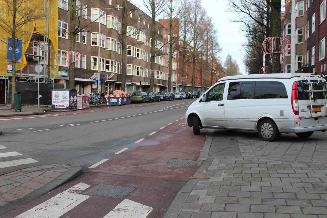 levensgevaarlijk: losse wieldoppen in Buitenveldert