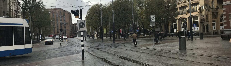 leidseplein fietsers