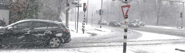 aanrijding sneeuw schadevergoeding